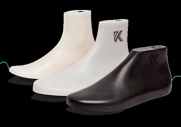 Hormas para calzados vulcanizados